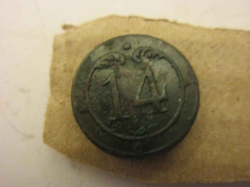 bouton 14éme d'infanterie de ligne I Empire Img_5732