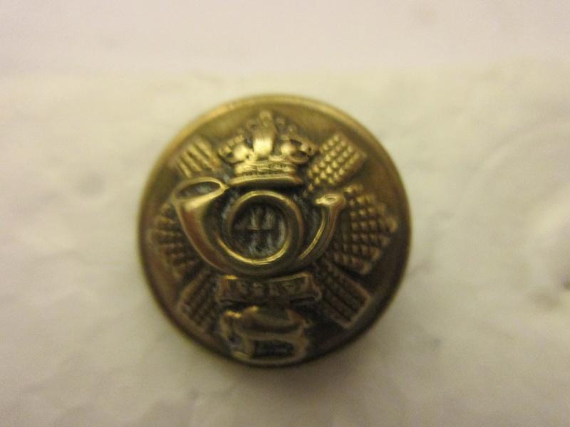 bouton bombè, Durham Light Infanterie Régiment,Indian colonial Troupe 1803 Img_6022