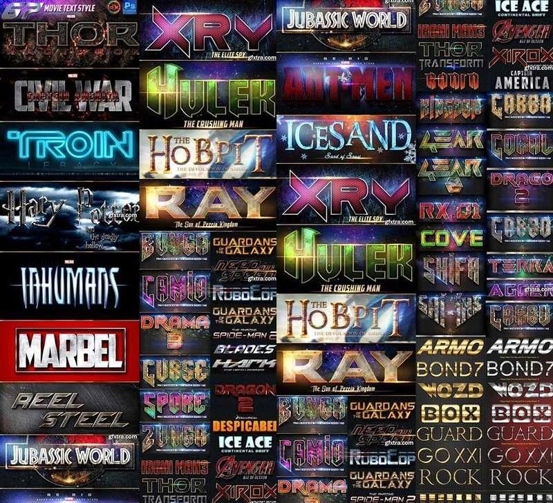74 ستايل عناوين الافلام العالمية - Movie Text Style 18624510