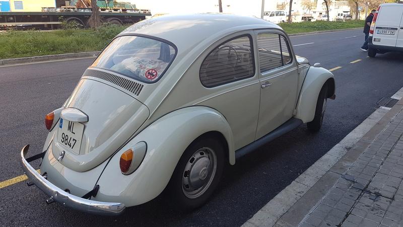 Vendo escarabajo 1200 (año 1968). 1er proprietario Vw120010