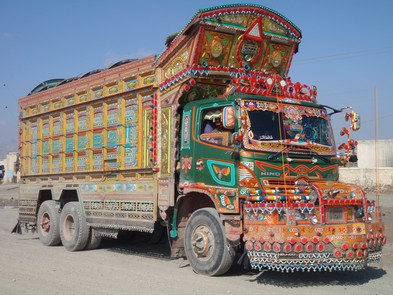 Les plus beau camion  Pakist10