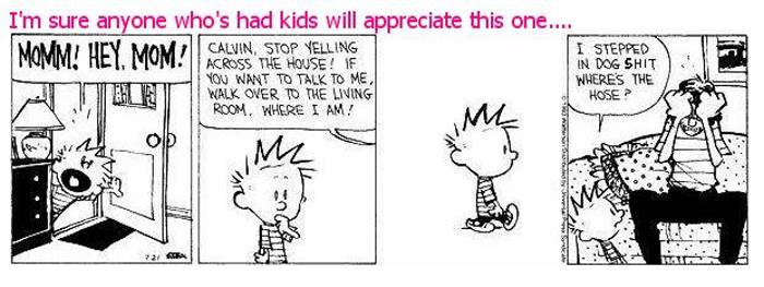Humor, cartoons and pictures Calvin10