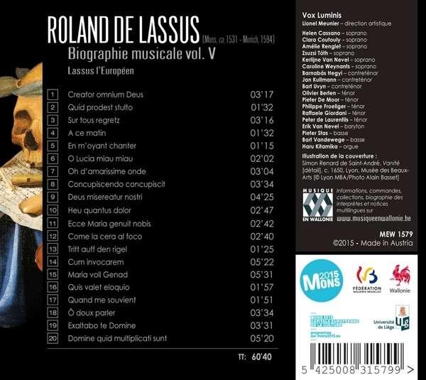 Roland de Lassus 54250010