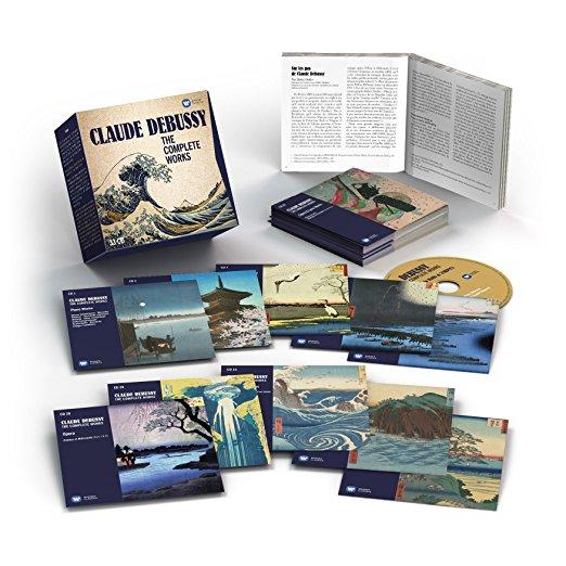 Coffrets Debussy Sony, DG et Warner 81quct10