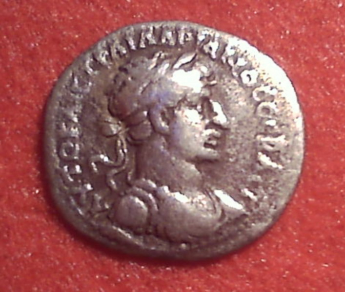 Hemidracma de Adriano. Cesarea (Capadocia). Cw003a12