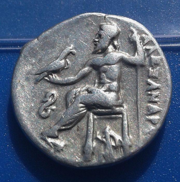 Dracma de Filipo III Arrideo Hgf211