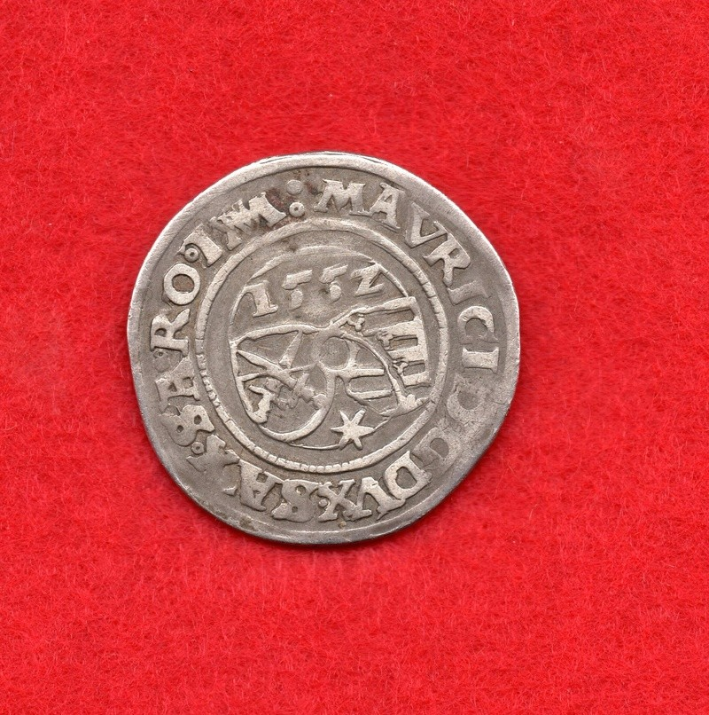 1/4 de Thaler. Sajonia. 1552 Zpre1112