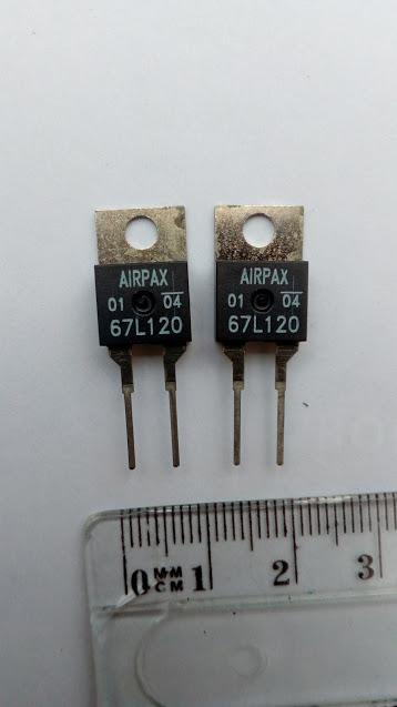 Vend  2 thermiques pour compresseur EAS Airpax10