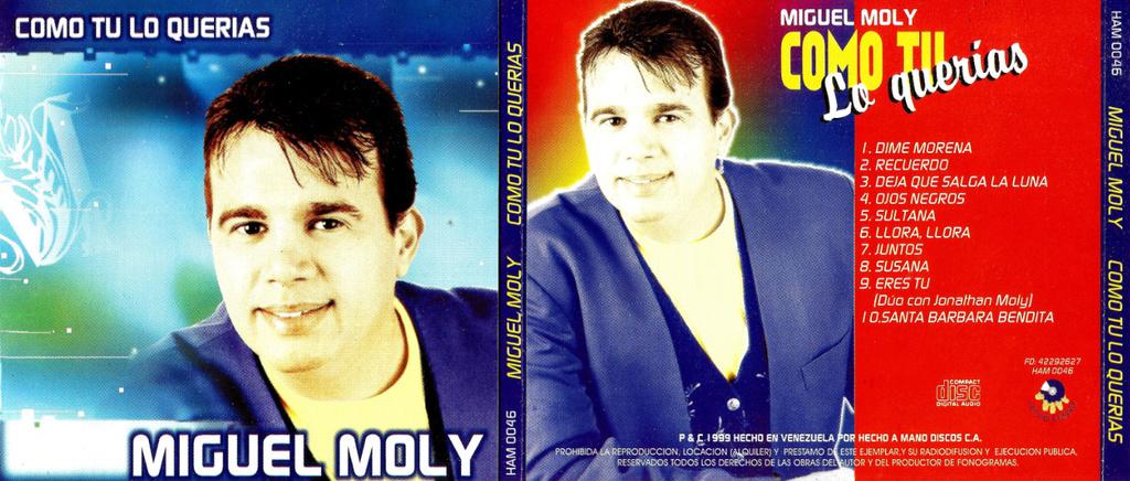Miguel Moly - Como Tu Lo Querias (1999) Miguel10