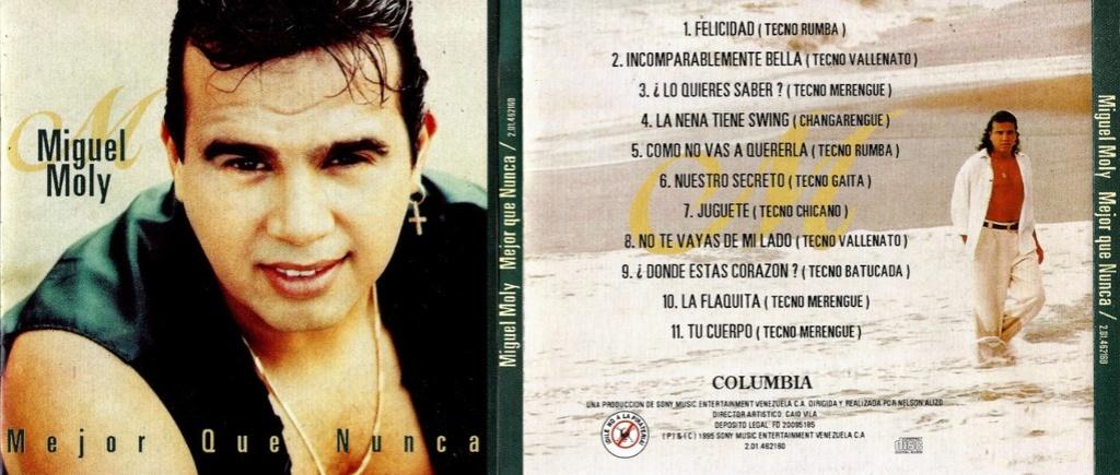 Miguel Moly - Mejor Que Nunca (1995) Miguel13