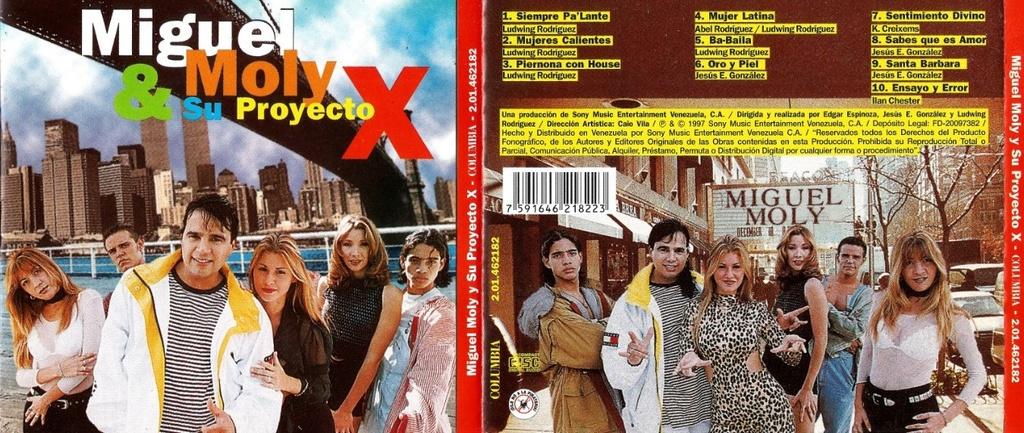 Miguel Moly & Su Proyecto X (1997) Miguel14