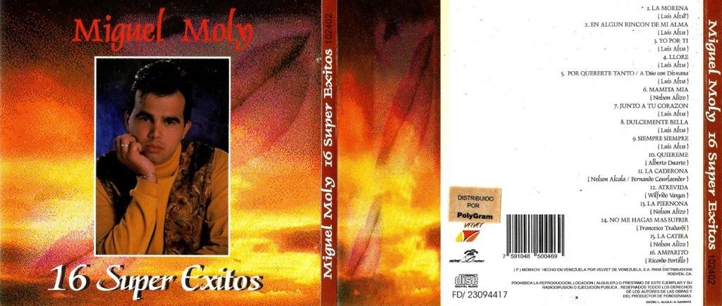 Miguel Moly - 16 Super Exitos (1994) Miguel17