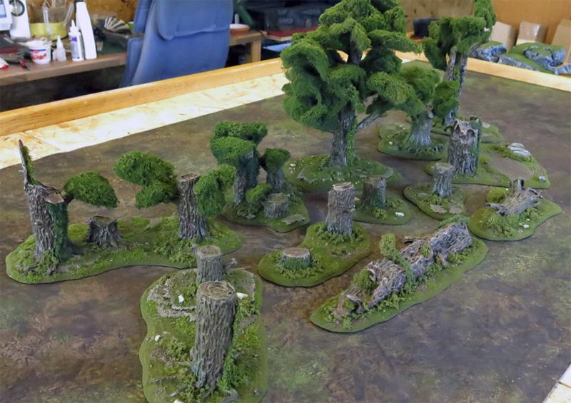 [Legion] Gelände für Wald-Spielfäche Wald0110