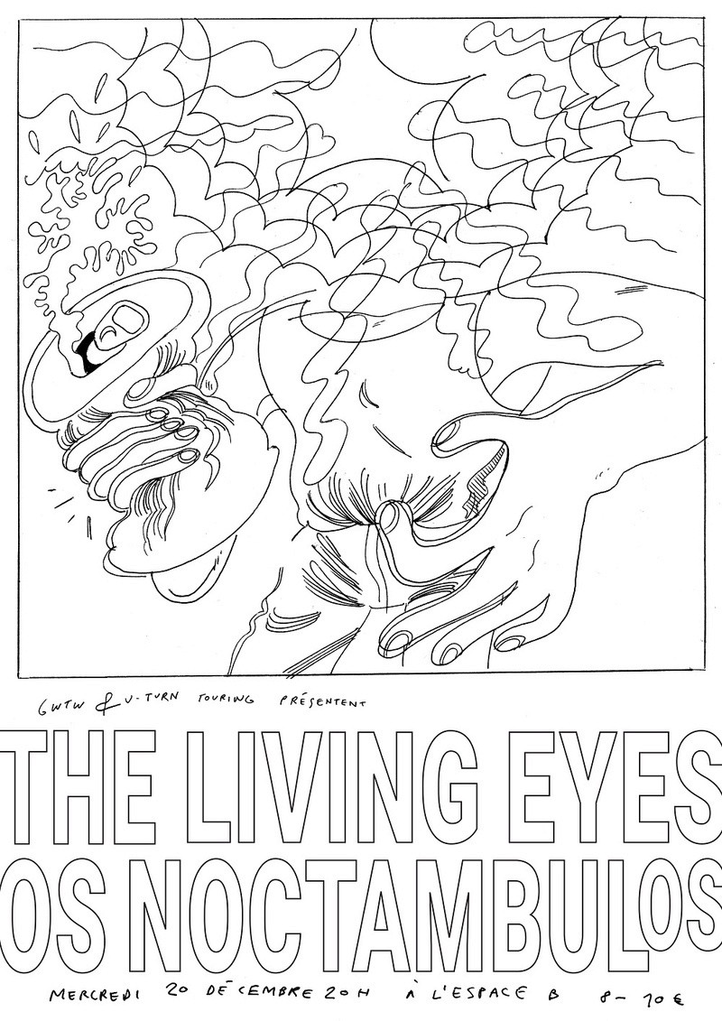 The Living Eyes + Os Noctambulos à l'Espace B Living10