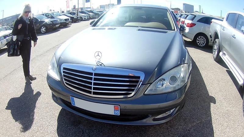 MA CLASSE S limousine fin 2005 W221bi10