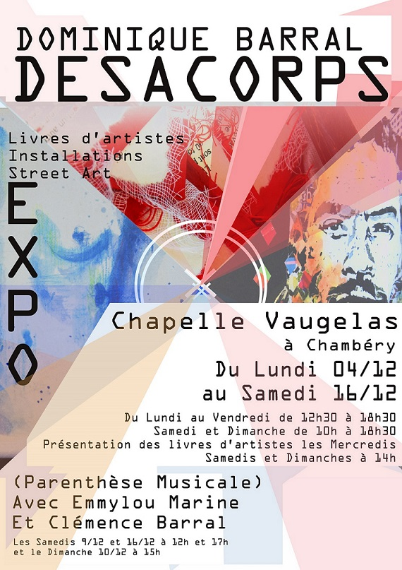 EXPO CHAPELLE Vaugelas du 4 DEC au 16 DEC Expo10