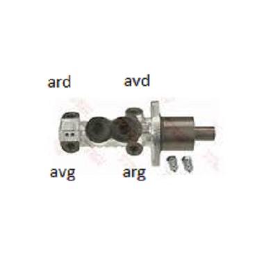 raccordement conduites de freins/maitre cylindre gti 1900 Images10
