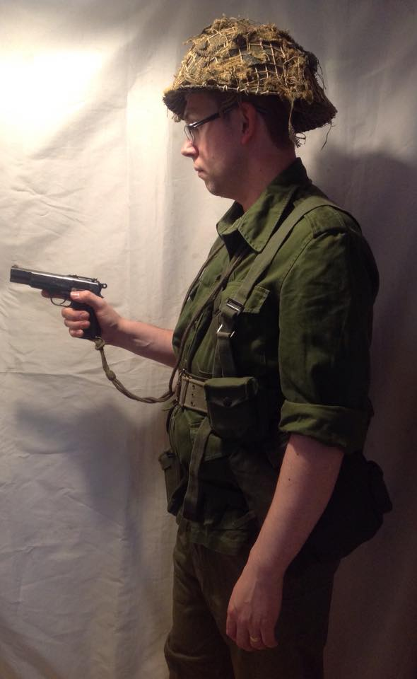 Reconstruction of a Canadian Soldier on Summer Exercise 34016810