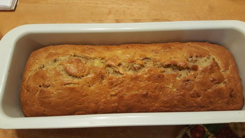 Bánh mì chuối thực hiện trong 10 phút 20180314