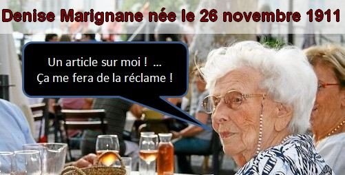 Paroles de centenaires Denise10