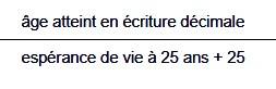 Longévité et population - Page 4 Formul10