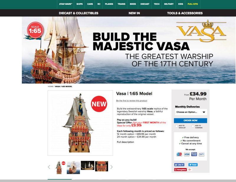 Le Vasa de Agostini GB Captur82
