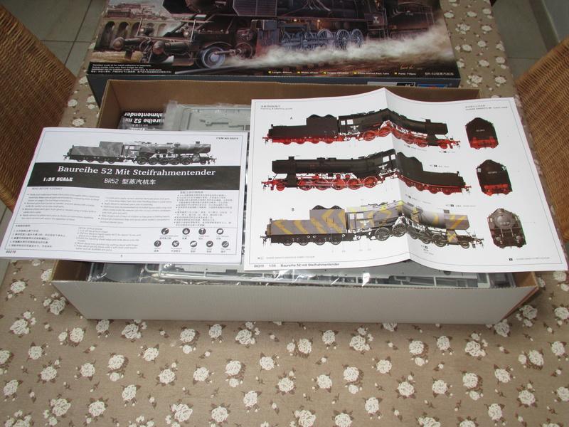 La Locomotive à vapeur BR 52 de Trumpeter au 1/35 Img_5103