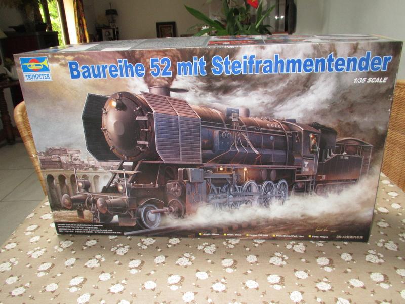 La Locomotive à vapeur BR 52 de Trumpeter au 1/35 Img_5675