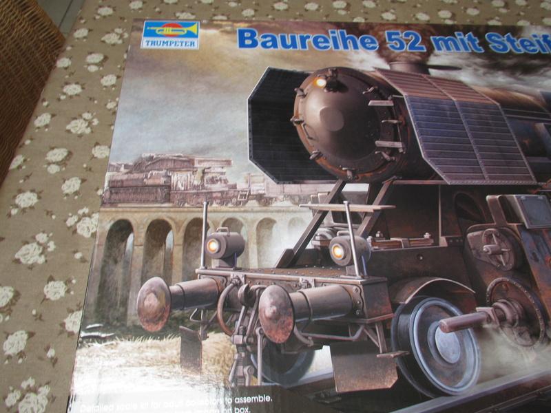 La Locomotive à vapeur BR 52 de Trumpeter au 1/35 Img_5689
