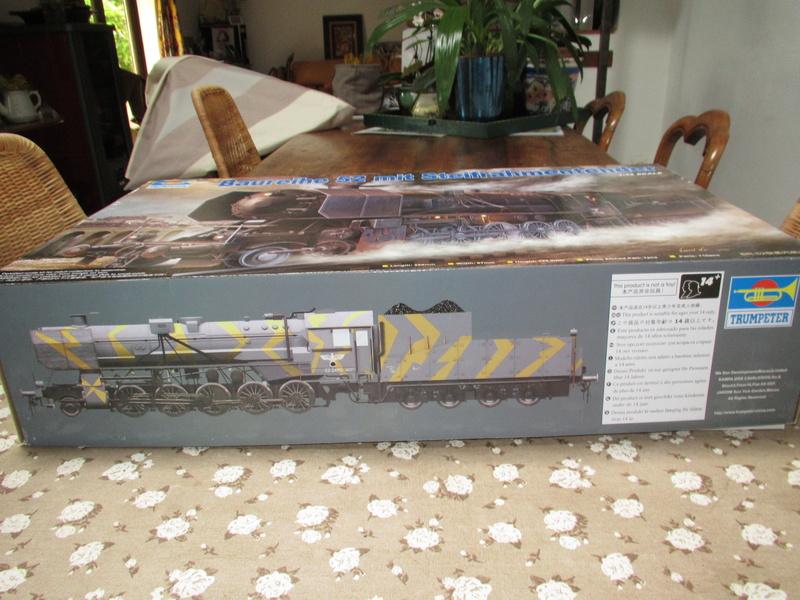 La Locomotive à vapeur BR 52 de Trumpeter au 1/35 Img_5690