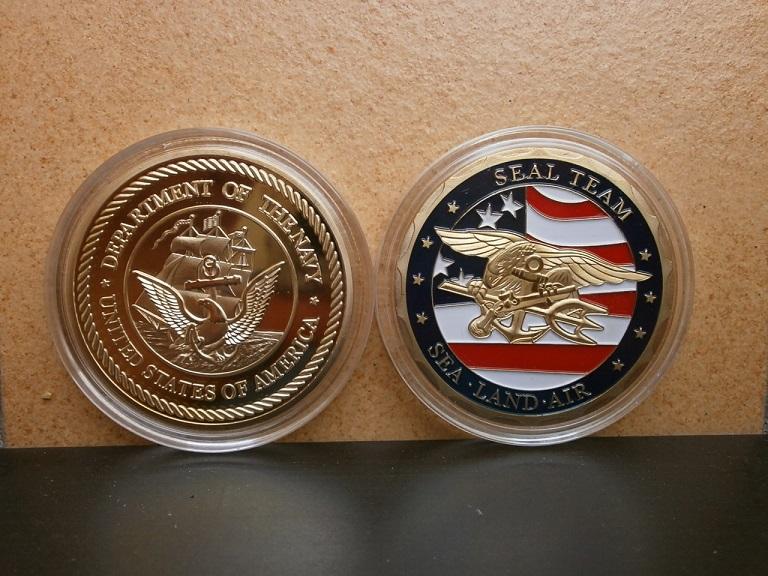 Jeton coin US navy seal  Lot_0411