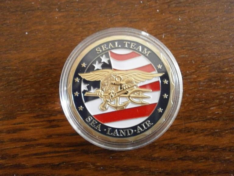 Jeton coin US navy seal  Lot_0412