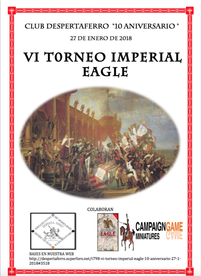 """VI TORNEO IMPERIAL EAGLE """" 10 ANIVERSARIO"""" 27-1-2018 Vi_imp10"""