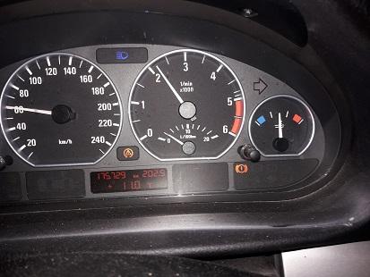 [ BMW E46 318d M47 an 2005 ] deux voyants allumés 20171014