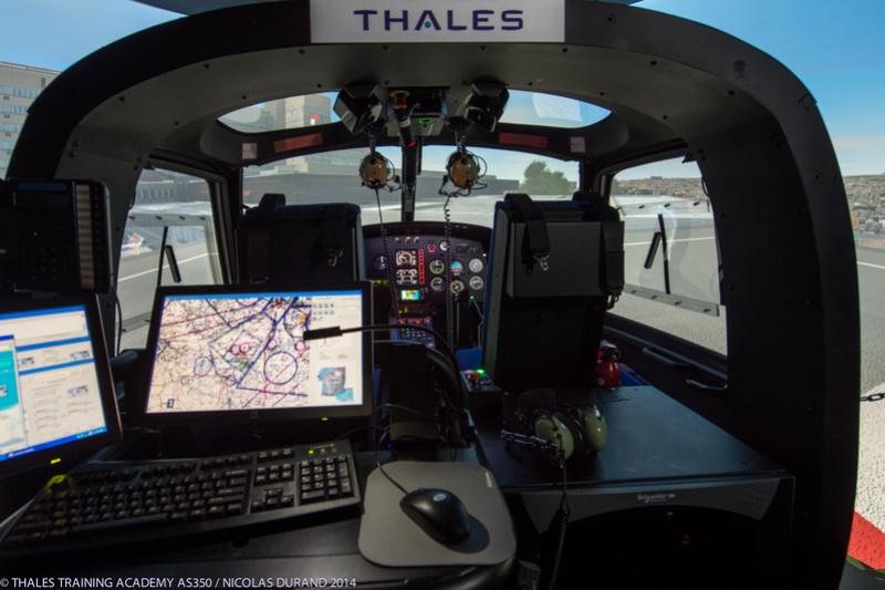 Technicien & Ingénieur Simulateurs de Vol Hélicoptères As350-10