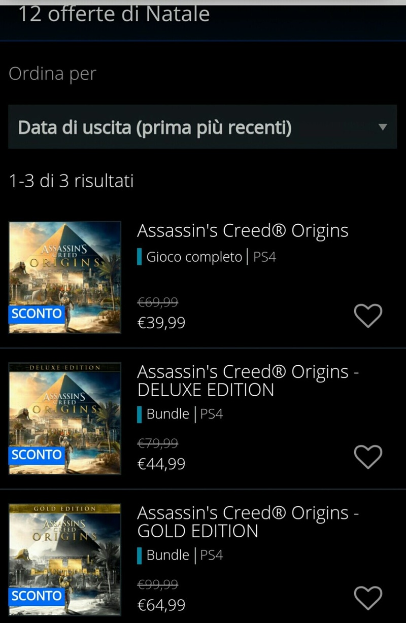 Gioconi in offerta su PlayStation Store! Whatsa12