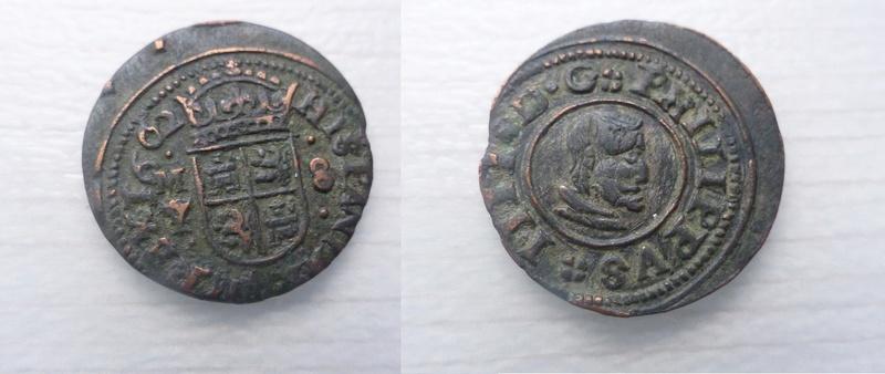 8 maravedis 1662 - Madrid P1060010