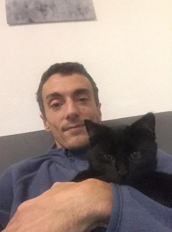 NYSSA, chatonne noire, née le 25/05/17 E2322210