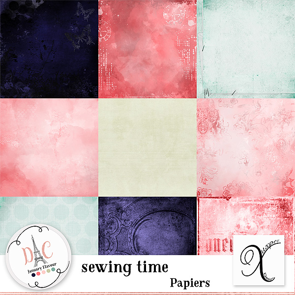 Sewing time 03.03 (only Digital crea) Xuxper84