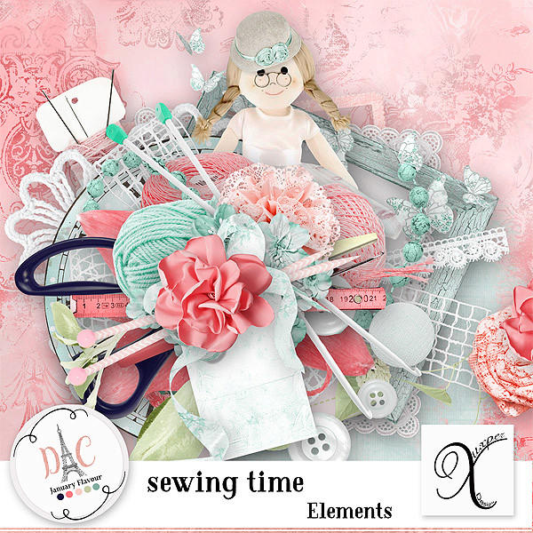 Sewing time 03.03 (only Digital crea) Xuxper85