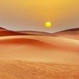 Le désert sans fin
