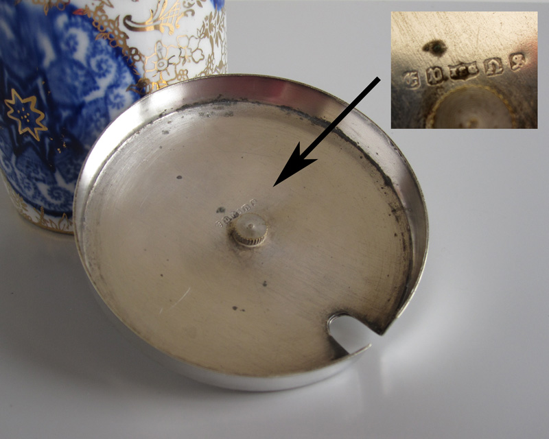 Jam pot - probably 19th century Bluego12