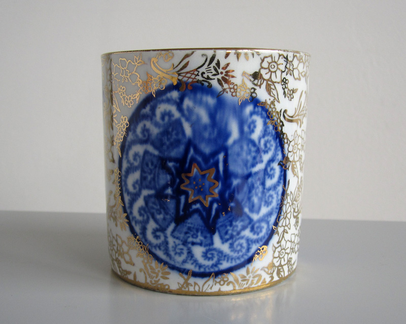 Jam pot - probably 19th century Bluego14