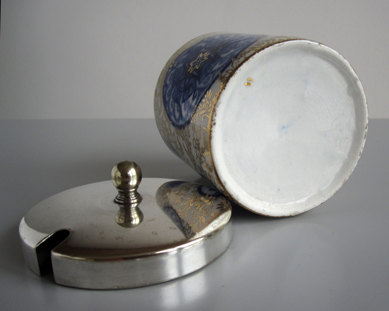 Jam pot - probably 19th century Bluego15