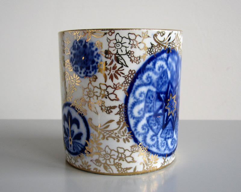 Jam pot - probably 19th century Bluego16