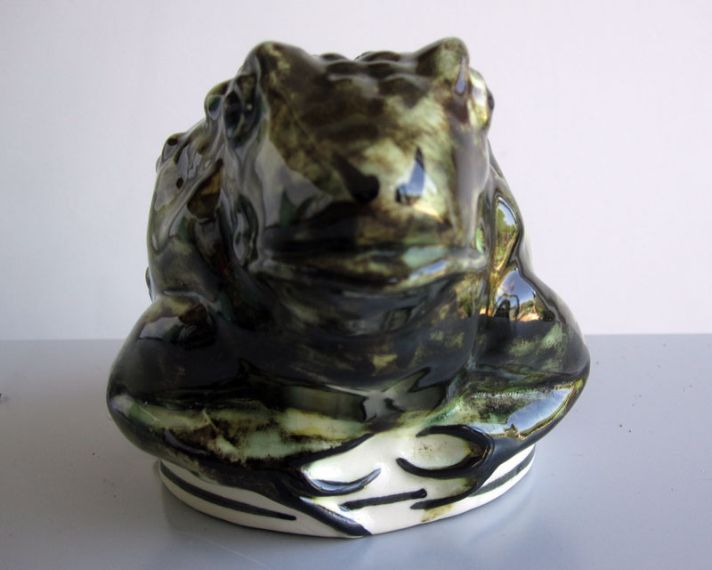Frog/Toad money box Frogmo11