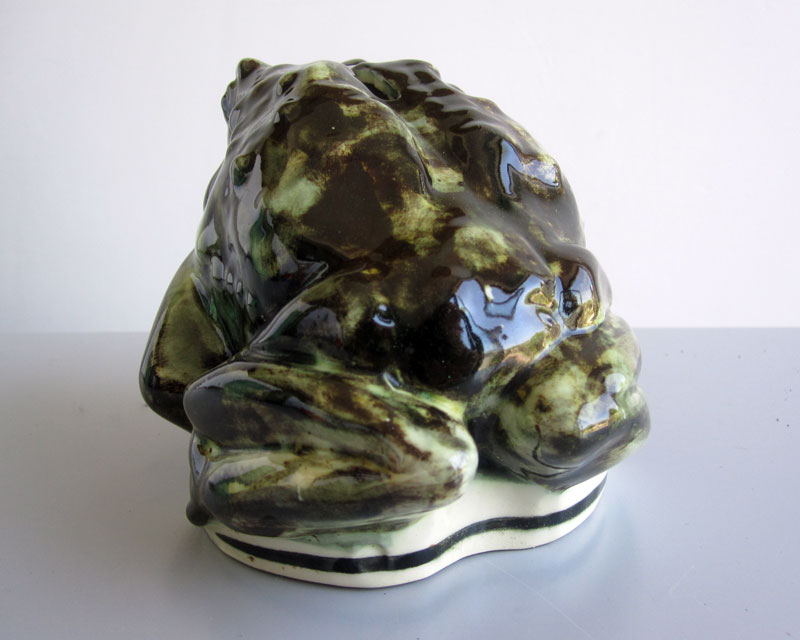 Frog/Toad money box Frogmo12