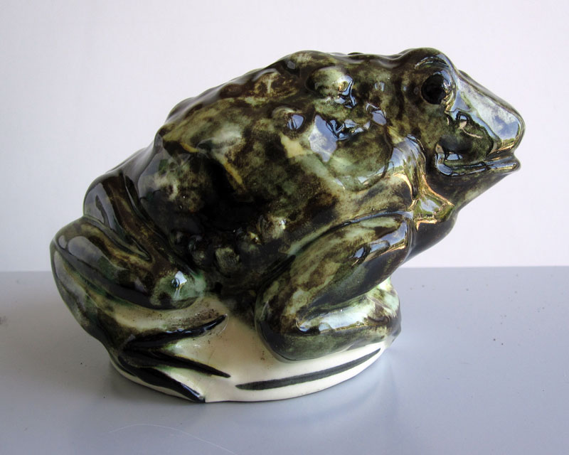 Frog/Toad money box Frogmo14