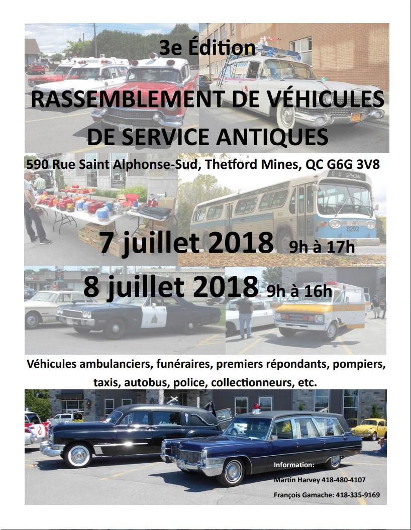 Rassemblement de véhicules de service antiques  - 7/8 juillet 18 Expo_s13