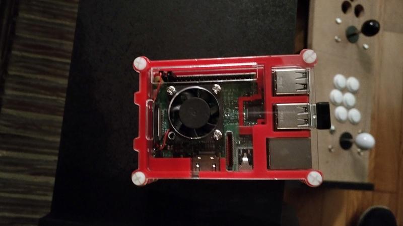 [WIP][TERMINE] Bartop Guedin - Recallbox Raspberry Pi3 Bt1110